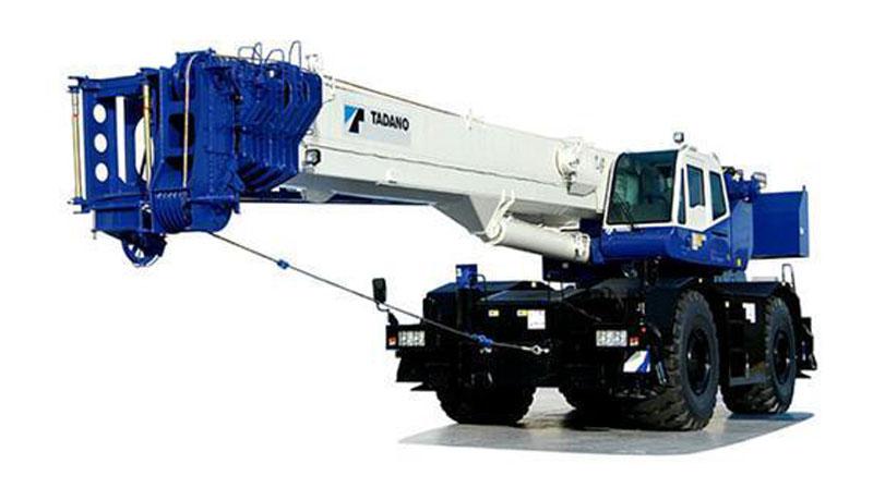 Rought Terrain Cranes 20-50 tons